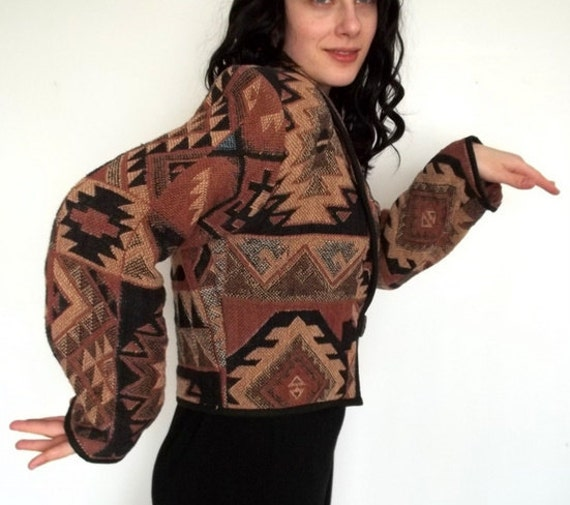 Tribal Printed Jacket