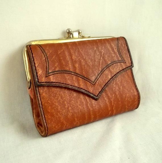 Brown Woodgrain  Princess Gardner Wallet