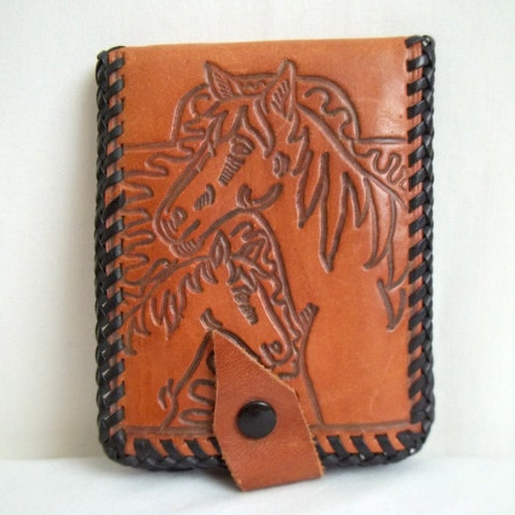 Horse & Foal Leather Wallet