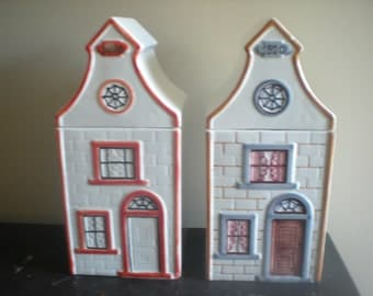 Mancer House Cookie Jars - Italy