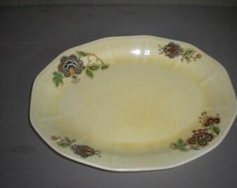 Yellow Canary China Plate