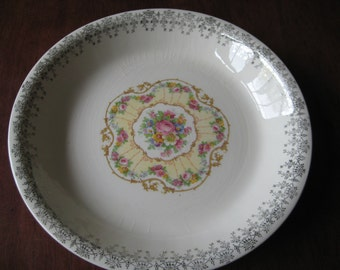 Leigh Ware Plate - warranted 22K