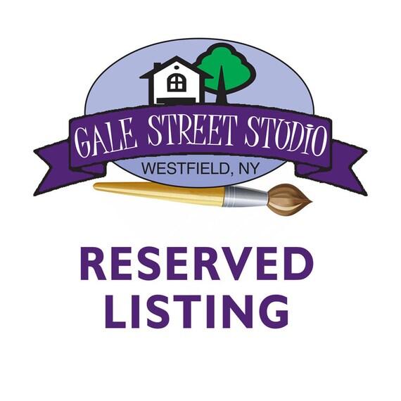 Reserved Listing for ocgirl78