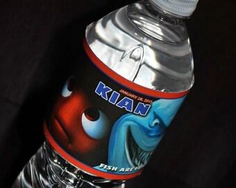 Finding Nemo Water Bottle Labels 24ct or DIGITAL
