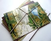 Blank Greeting Cards, 19th Century Poetry, Vintage Inspired, Poe, Whitman, Keats, Wordsworth, Steampunk and Victorian