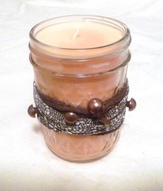 8 oz Pumpkin Pie Spice Soy Jelly Jar Candle