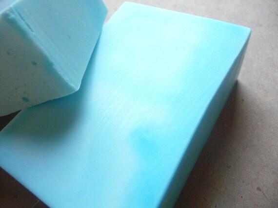 Peppermint Blue Goat's Milk Soap