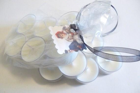 Tea Light Candles- 6 Vanilla