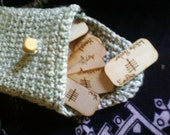 Ogham Rune and Bag Set