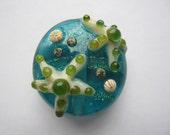 Focal Starfish Lampwork Bead