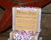 Handcrafted Mackinac Island Lilac Soap with Shea Butter