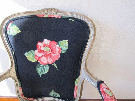 ON HOLD - Vintage French Style Arm Chair