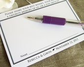 Wedding Guestbook Card Printable Alternative Guest Book