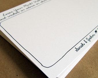 Wedding Guestbook Printable Guestbook Card Printable Guestbook Alternative