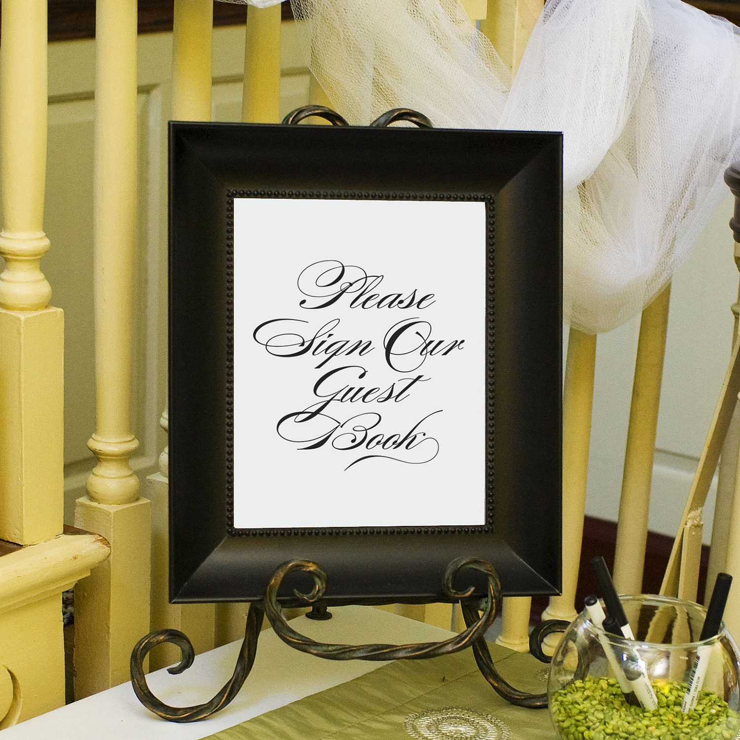 8x10 Wedding Albums: Wedding Guest Book Sign Guestbook Sign By EdenWeddingStudio