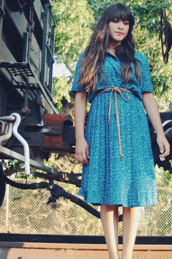 True Blue Dress