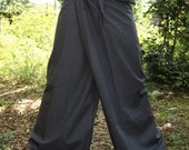 SALE Grey Thai fisherman pants  one fit all