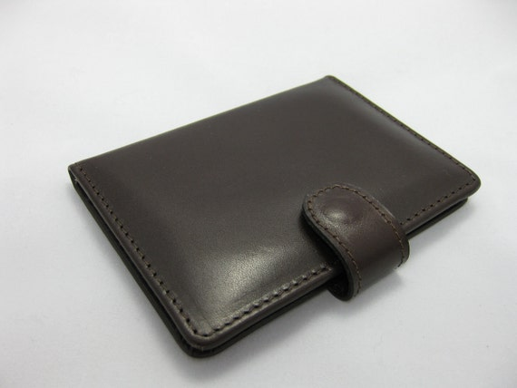 Genuine leather credit card case