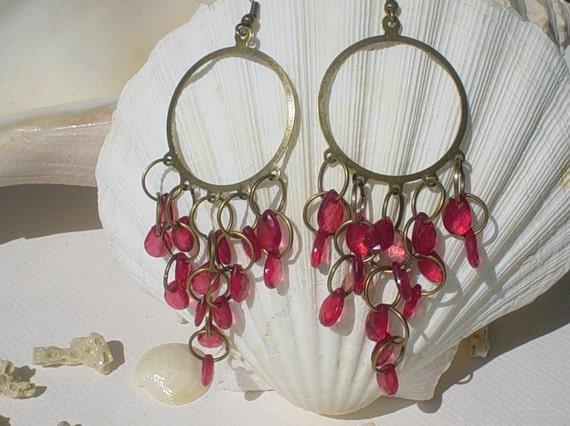 Bronze Chandelier Earring