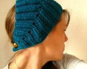 Teal Ear Warmer Headband