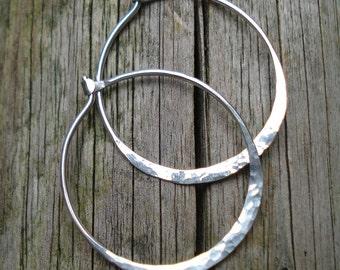 Less Is More Hoop earrings (various sizes)