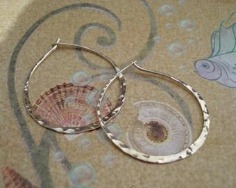 Less Is More Oval Hoop Earrings (various sizes)