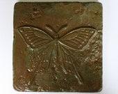 Concrete butterfly tile