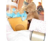 personalize this gift,Tools of the Trade, Bear Buggy, Spring, Gardener, Seamstress,