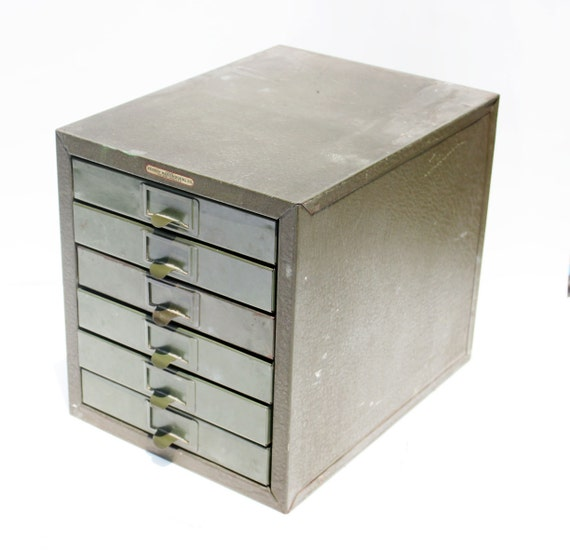Industrial Steel Storage Cabinet with Drawers: Kennedy Kits Tool Box