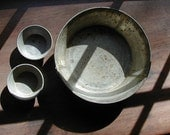 Old Tin Bread Pan and Muffin Tins