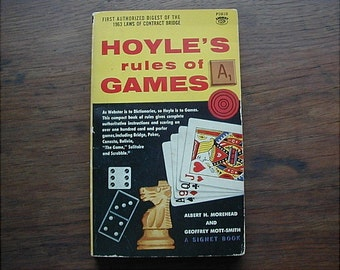 Hoyle's Rules of Games 1963 Book