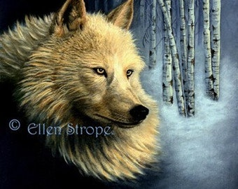 WOLF, Note Cards, White Wolf, Fine Art, Wolves, Wolf decor, wildlife, blank cards, Cabin decor