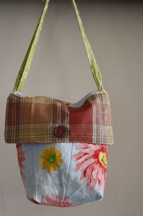 Messenger Bag for Toddler/Child, Eco Friendly, OOAK
