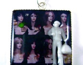 Resin Charm Necklace - Walter at the Wig Shop