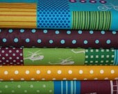 Etsuko Furuya, ECHINONICO - 5 Fat Quarter Bundle - Boy Collection