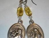 Saint Anthony Earrings