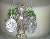 Saint Francis Of Assisi Earrings