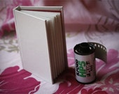 White Mini Book - Smooth Cover