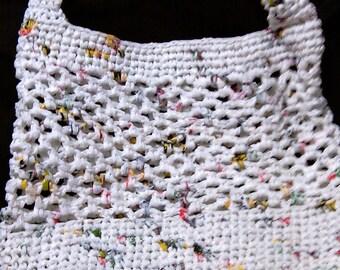 Upcycled Plarn Grocery Bag (B.M.O.B)