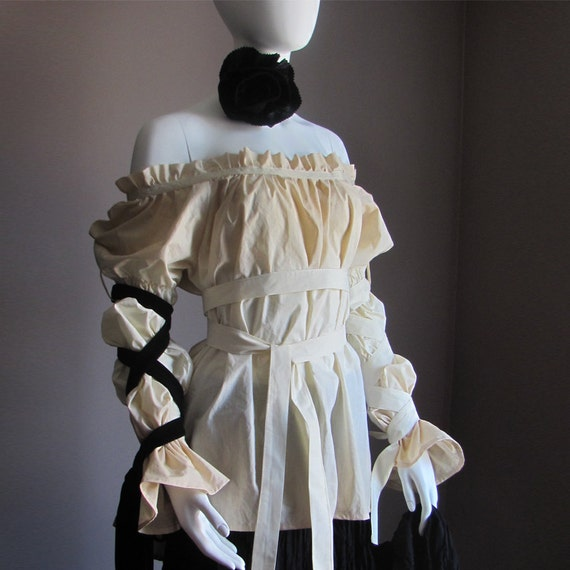 Women. Blouse. Summer. Spring. Renaissance. Gothic. Steampunk. Clothes. Princess. Fairy. Vampire. Costume. Pirate. Shirt. Peasant. Plus Size