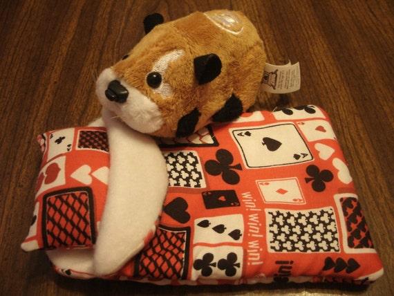ZHU ZHU Pets Hamster Sleeping Bag Playing Cards