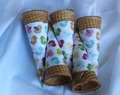 Little Birdies Ice Cream Cone Wrappers (set of 20)