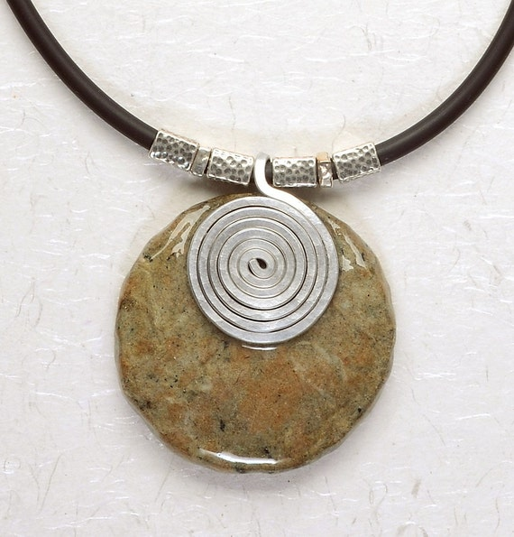 Eco friendly jewelry - Mother earth necklace