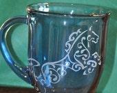 Engraved Horse Mug