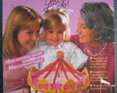 Wilton 1983 Cake Decorating Yearbook Magazine Carousel Cake