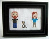 Small Family custom portrait