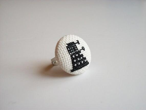 Doctor Who Dalek ring