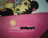 Kai Lan Personalized Baby Blanket