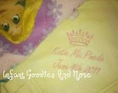 Rapunzel Baby Blanket
