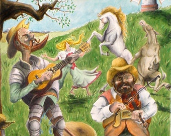 The Balladeering Romantic (Inspired by Don Quixote & Man of La Mancha)